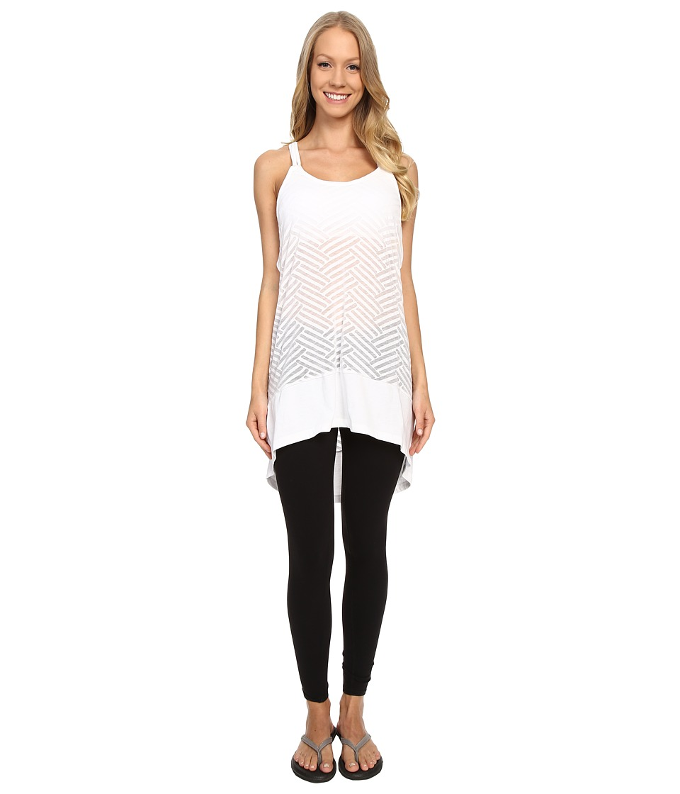 Lole - Samba Tunic (White Claws) Women's Sleeveless