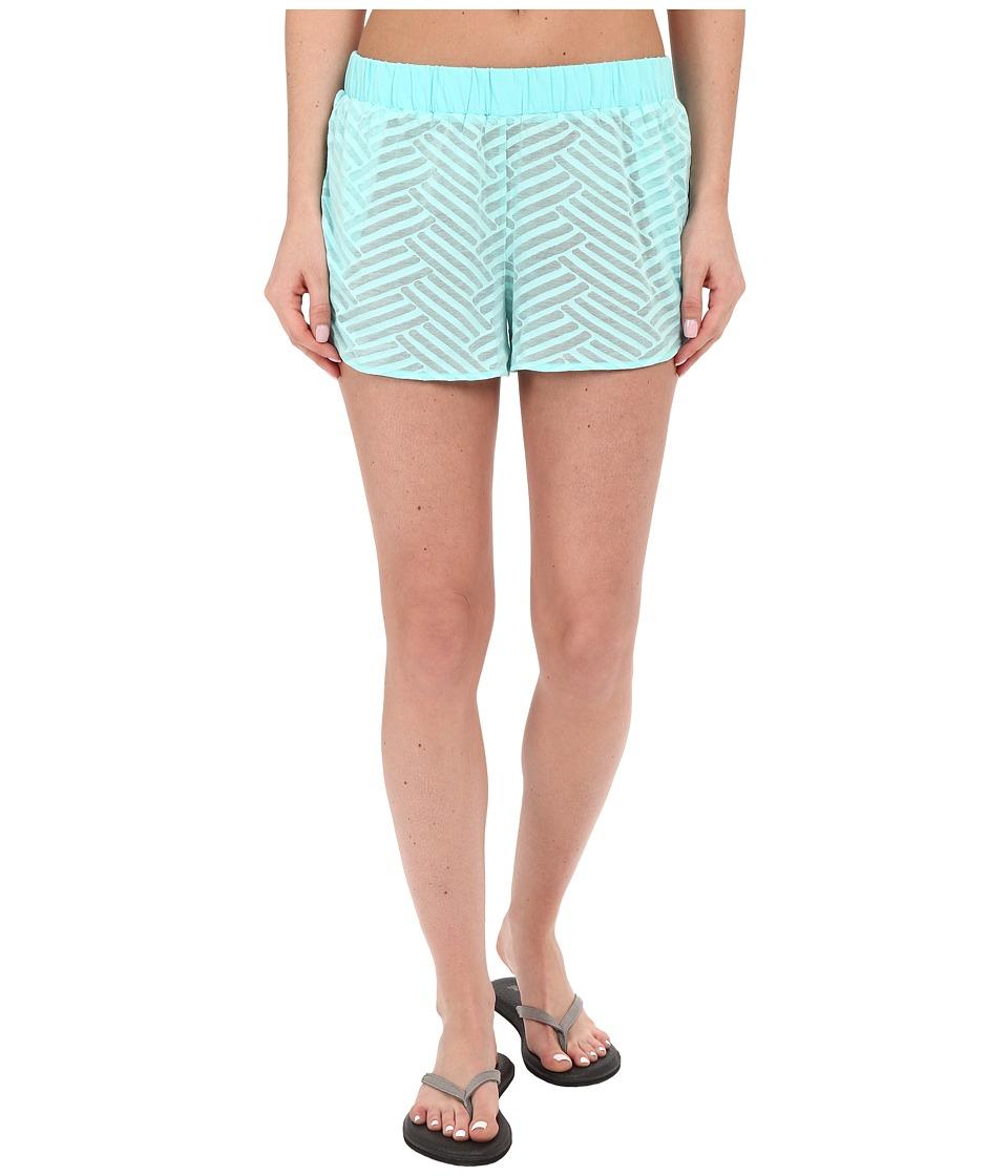 Lole - Judy Shorts (Aruba Blue Claws) Women's Shorts