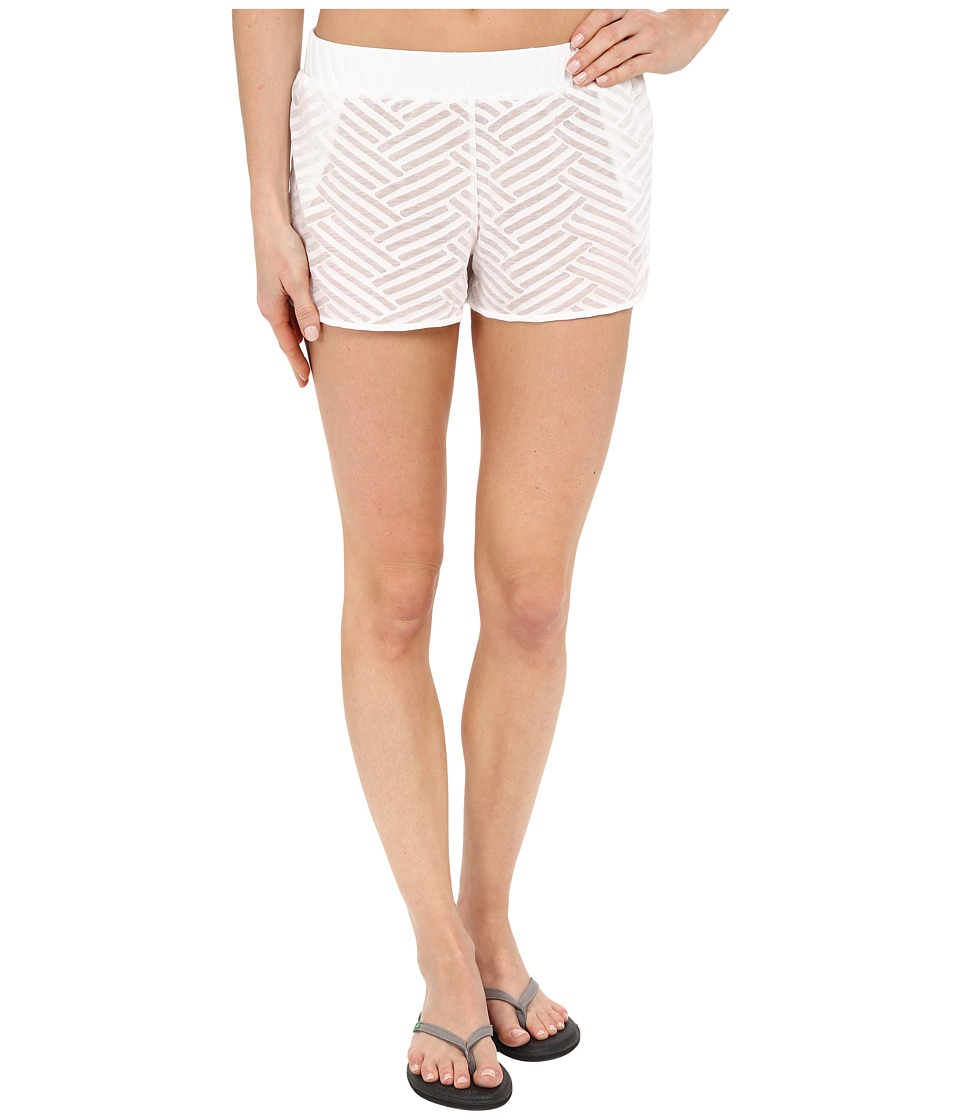 Lole - Judy Shorts (White Claws) Women's Shorts