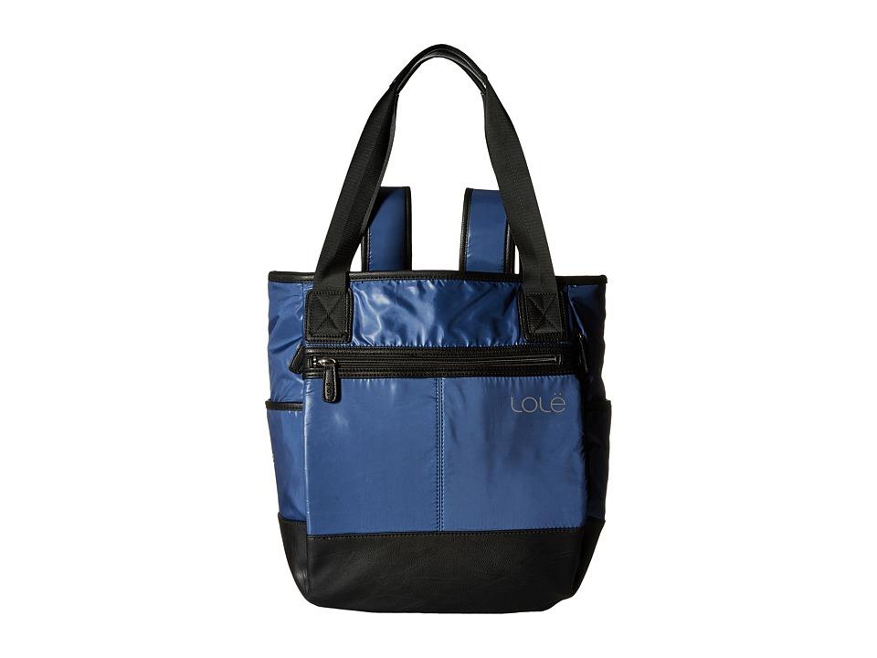 Lole - Lily Tote (Dark Denim) Tote Handbags