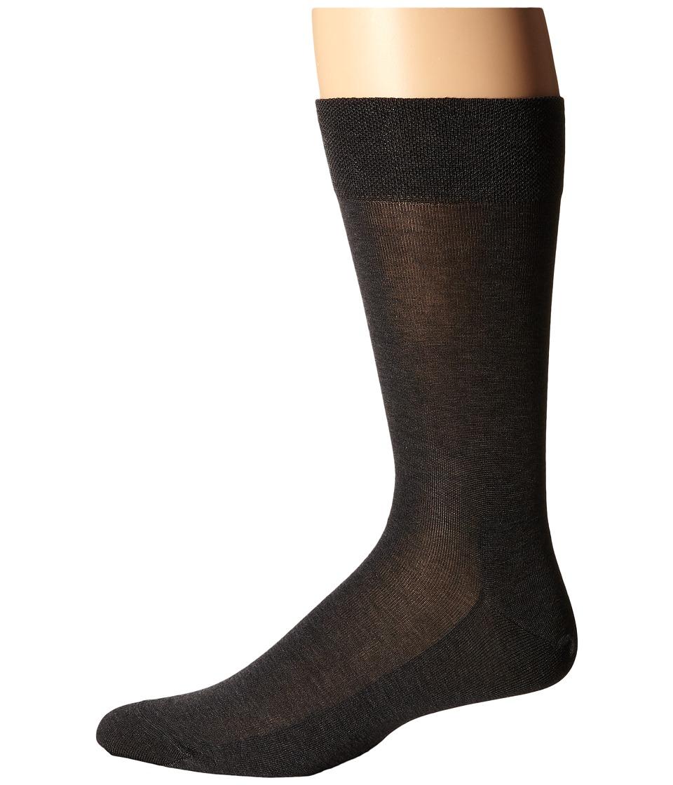 Falke - Sensitive Malaga Socks (Anthracite) Men's No Show Socks Shoes