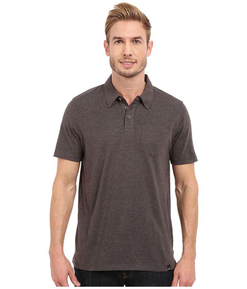 Prana - Marco Polo (Black Heather) Men's T Shirt