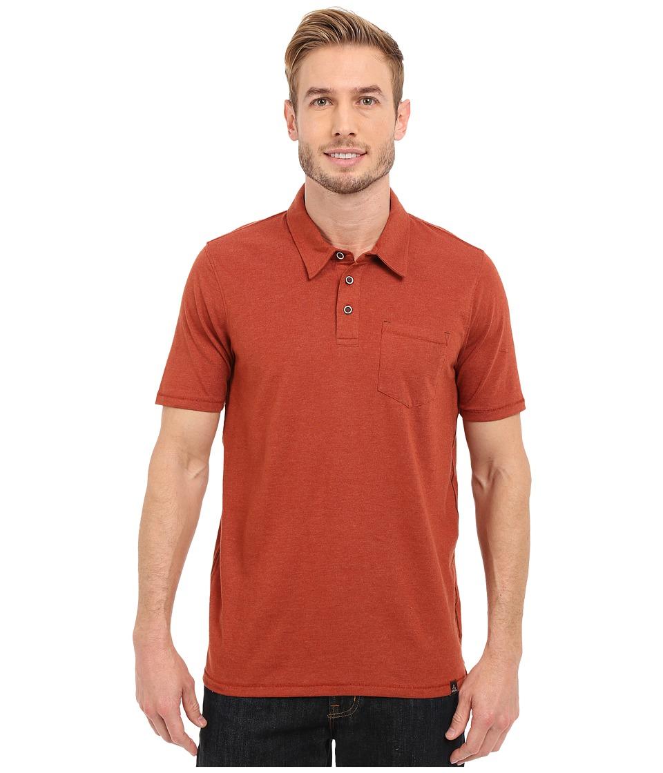 Prana - Marco Polo (Henna Heather) Men's T Shirt