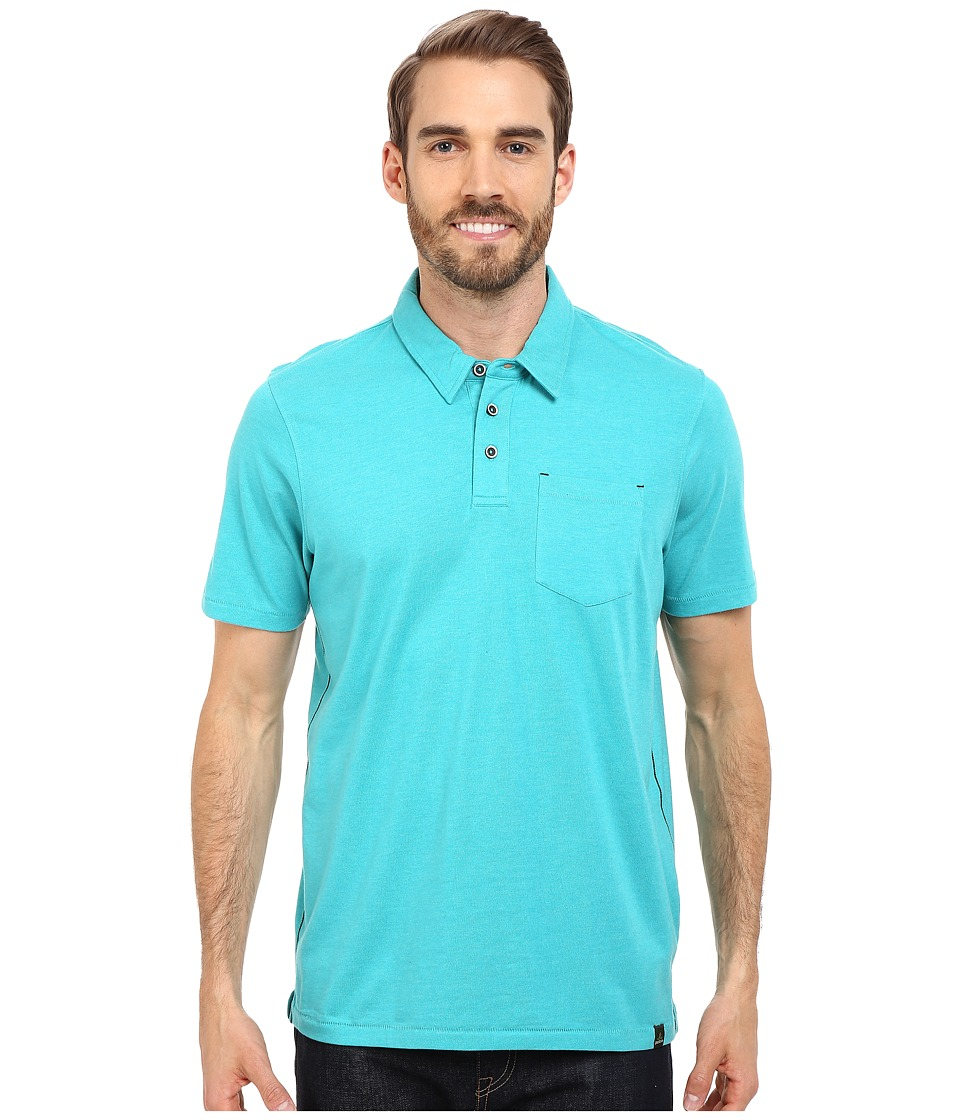Prana - Marco Polo (Tidal Teal Heather) Men's T Shirt