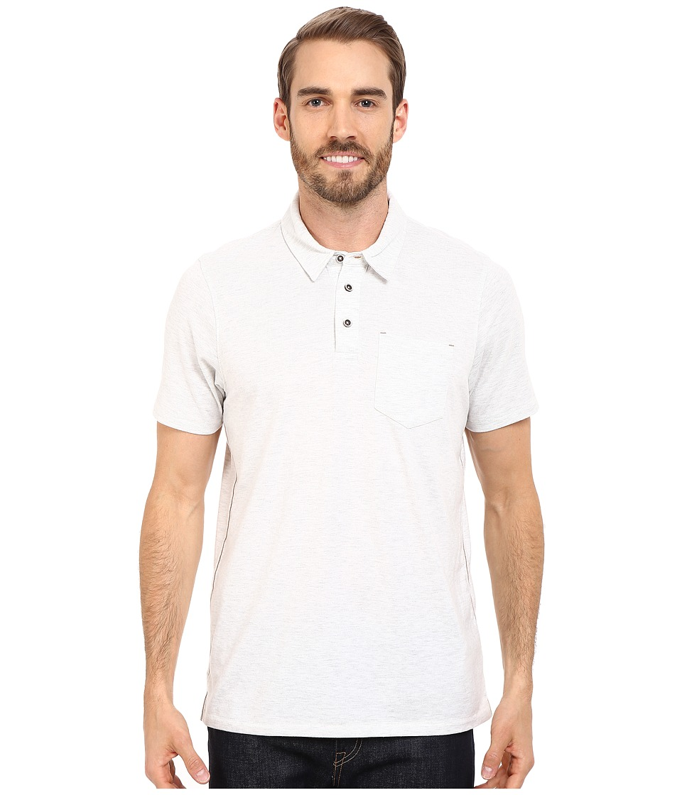 Prana - Marco Polo (White Heather) Men's T Shirt