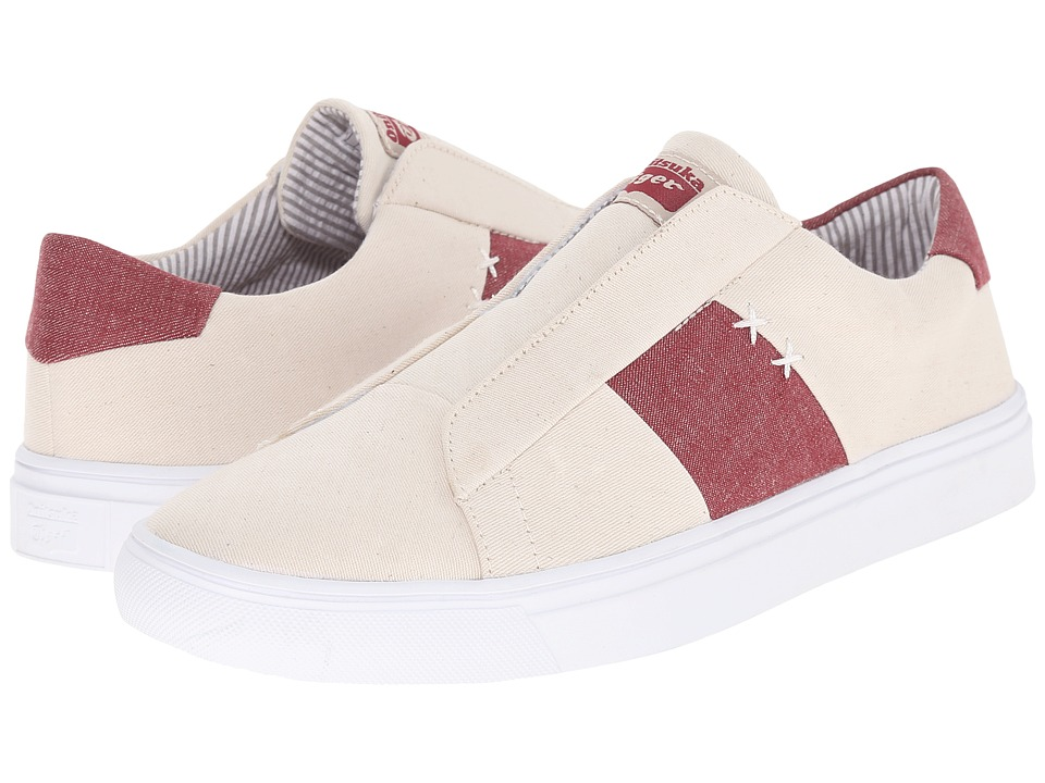Onitsuka Tiger by Asics - Appian (Off White/Burgundy) Shoes