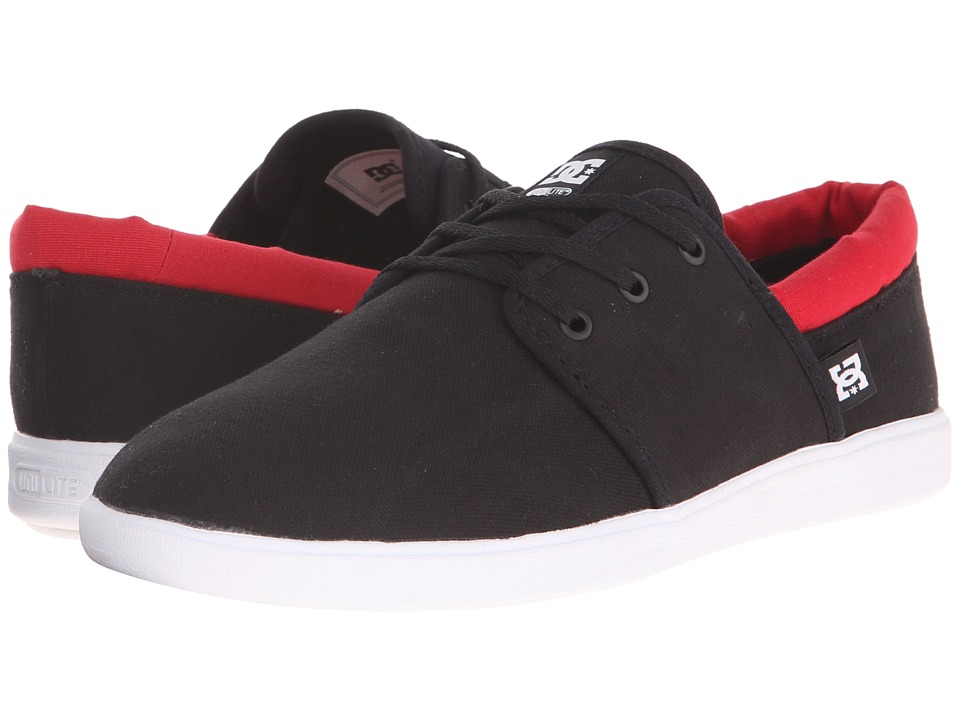 DC - Haven (Black/Red) Men's Shoes
