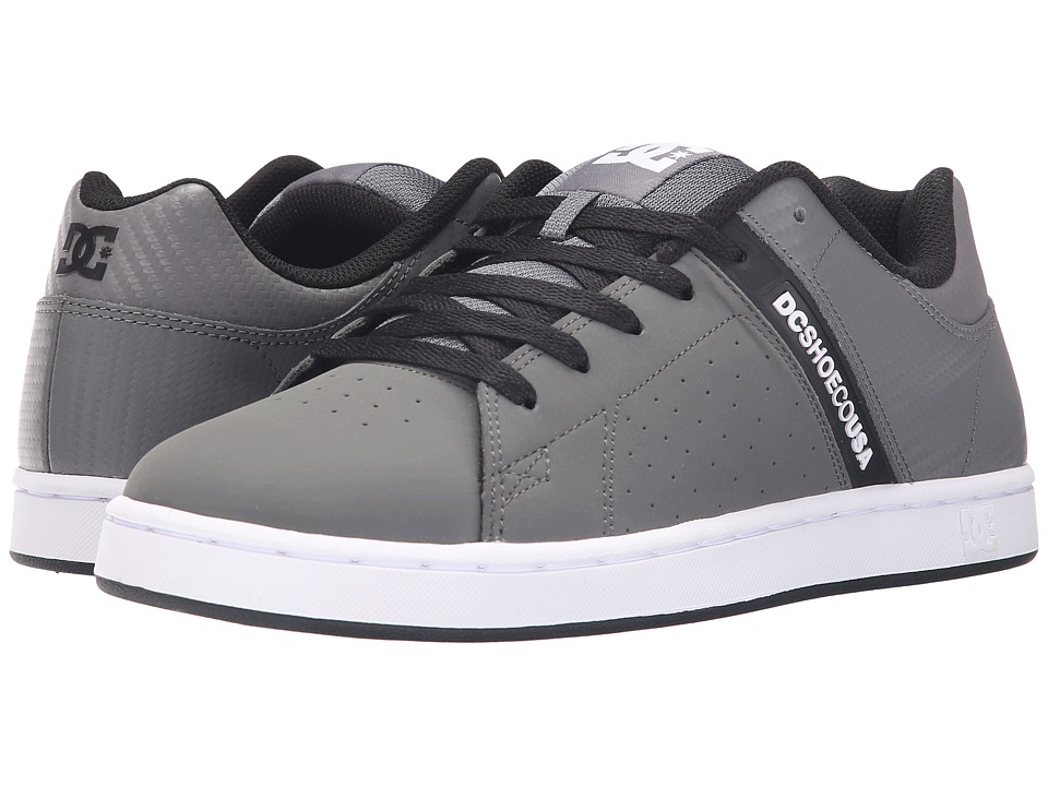 DC - Wage SE (Grey/Black) Men's Skate Shoes