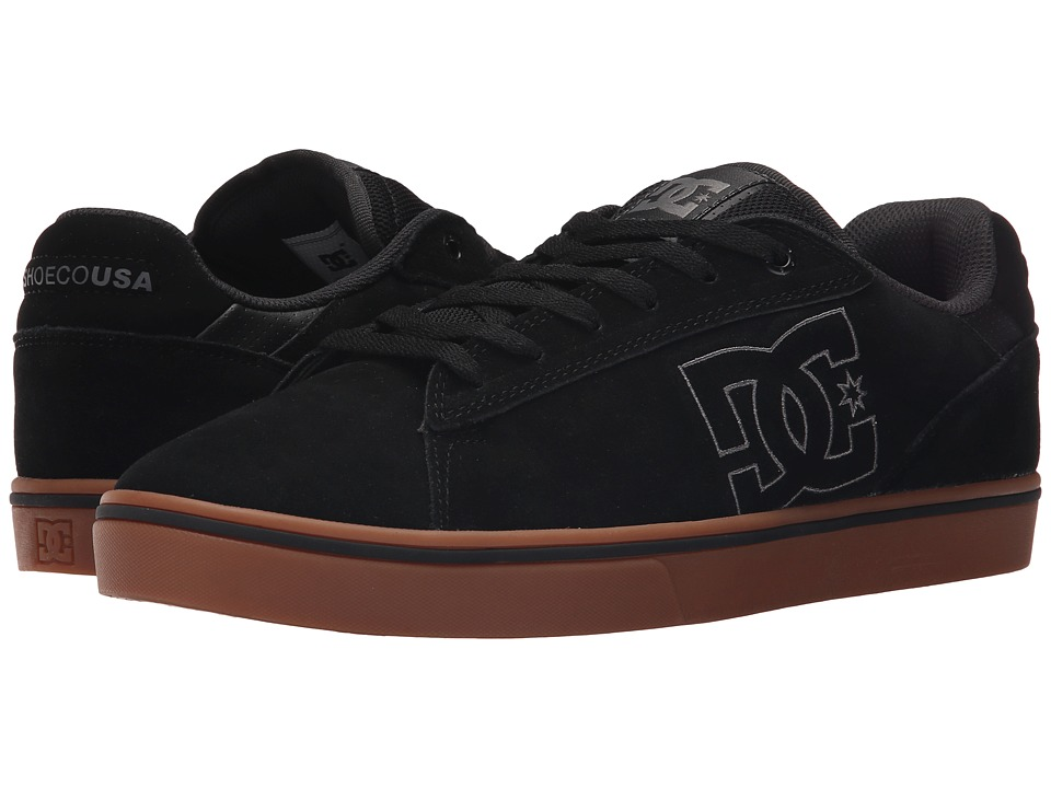 DC Notch SD (Black/Gum) Men