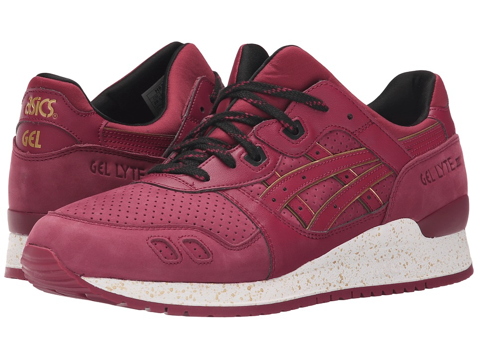 Onitsuka Tiger by Asics Gel-Lytetm III (Burgundy/Burgundy) Classic Shoes