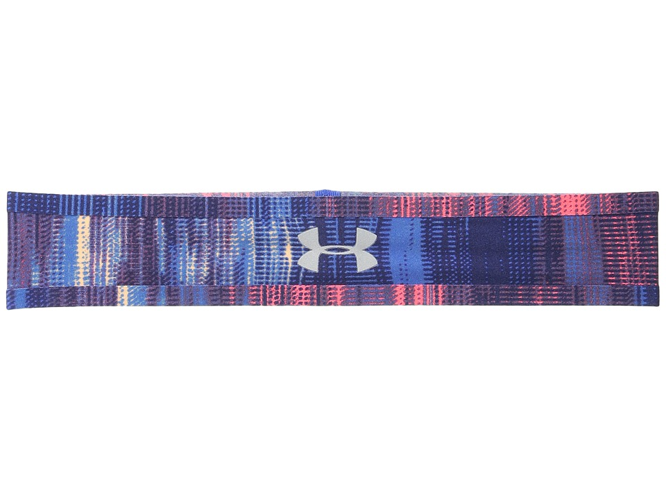 Under Armour - UA Bonded Headband (Youth) (Ultra Blue/After Burn/Reflective) Headband