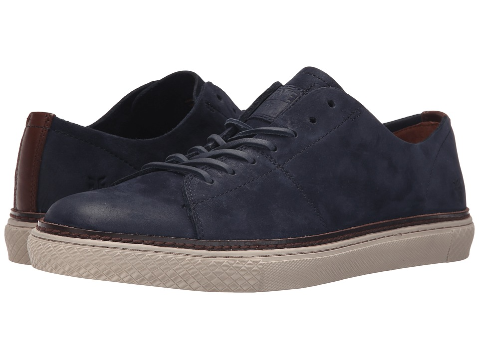 Frye - Gates Low Lace (Indigo Sunwashed Nubuck) Men's Lace up casual Shoes
