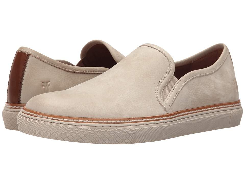 Frye Gates Slip-On (Cement Sunwash Nubuck) Men