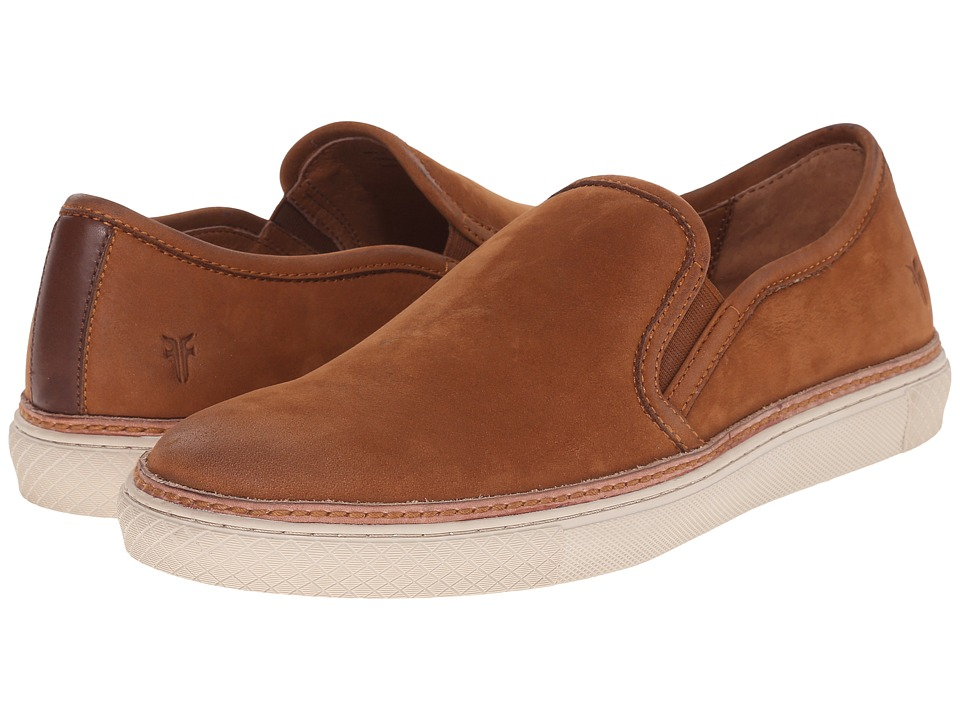 Frye Gates Slip-On (Cognac Sunwash Nubuck) Men