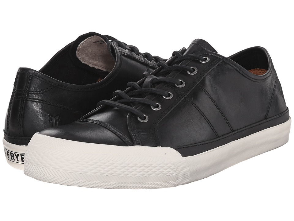 Frye Greene Low Lace (Black Antique Pull-Up) Men