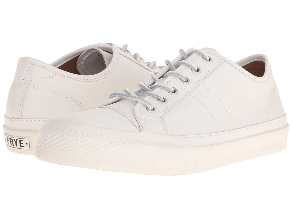 Frye - Greene Low Lace (White Matte Leather) Men's Lace up casual Shoes