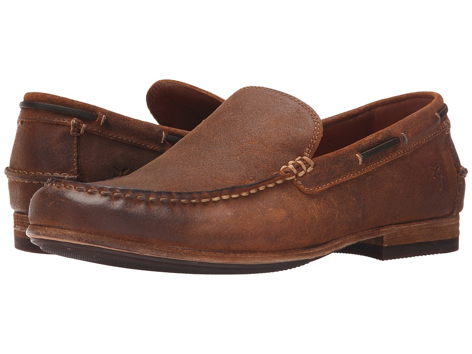 Frye Henry Venetian (Tan Waxed Vintage Leather) Men