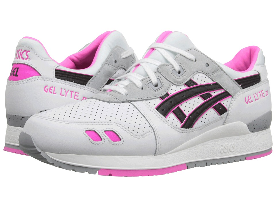 ASICS Tiger - Gel-Lyte III (White/Black) Classic Shoes