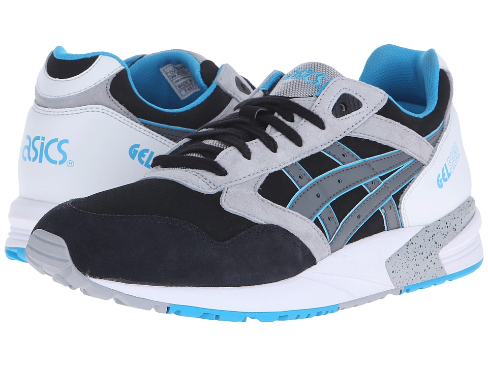 ASICS Tiger - Gel-Saga (Black/Grey) Lace up casual Shoes