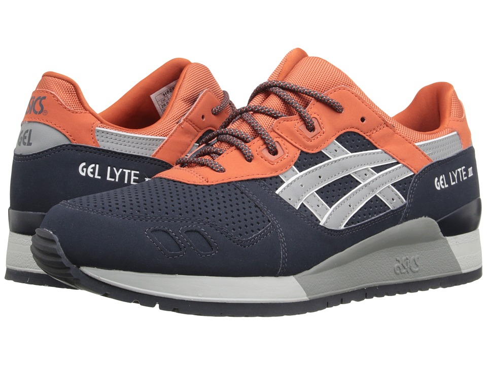 ASICS Tiger - Gel-Lyte III (Indian Ink/Mid Grey) Classic Shoes