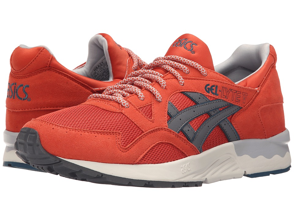 ASICS Tiger - Gel-Lyte V (Chili/Grey Suede/Mesh) Shoes
