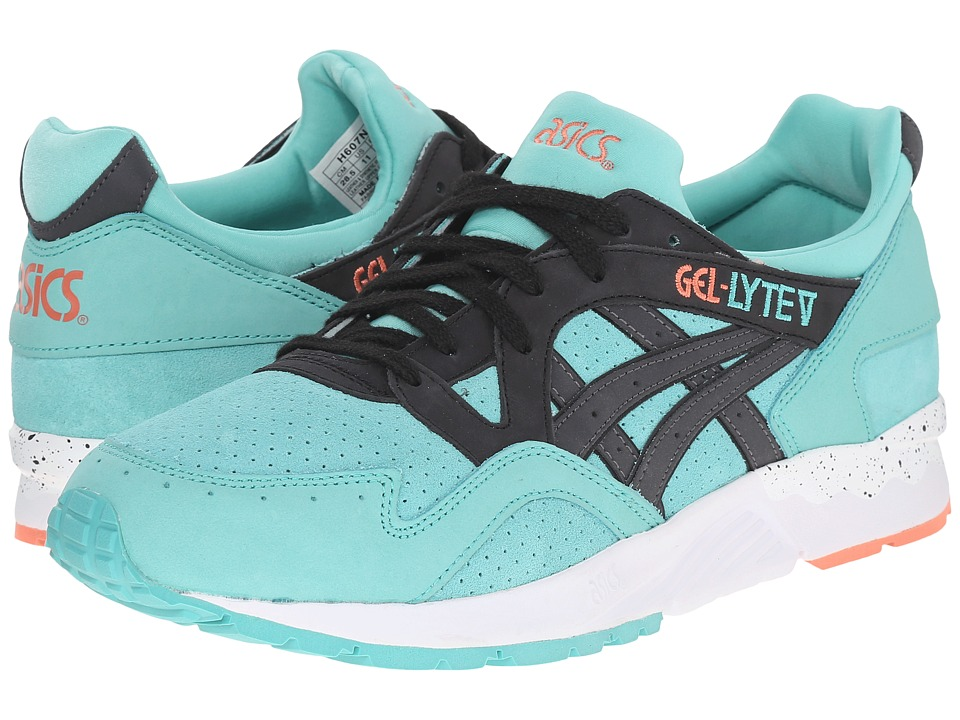 ASICS Tiger - Gel-Lyte V (Turquoise/Black Nubuck/Suede) Shoes