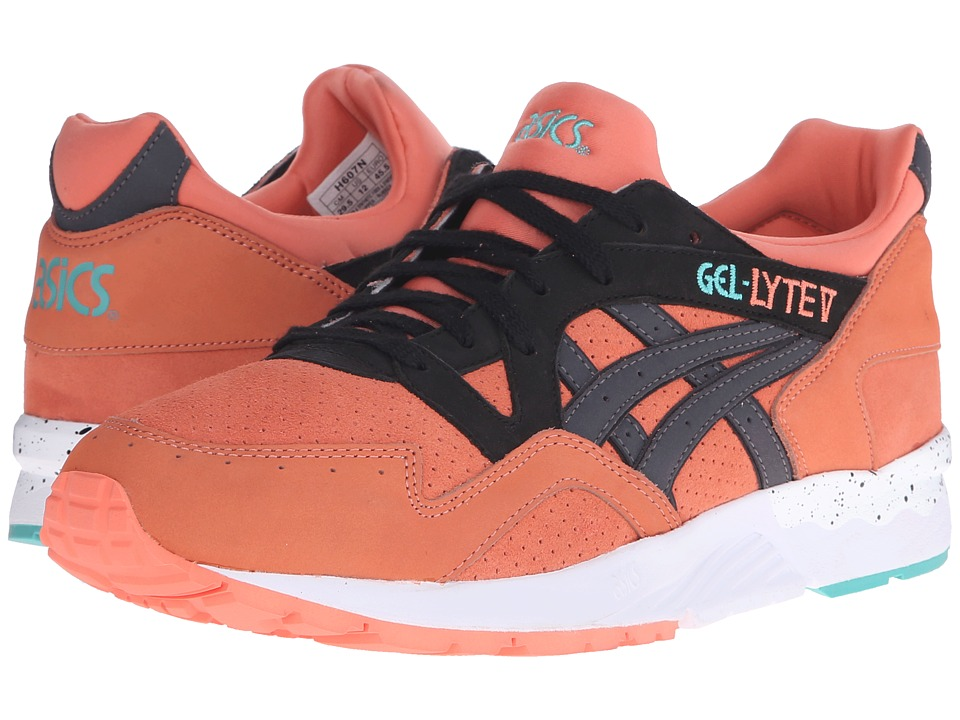 ASICS Tiger - Gel-Lyte V (Coral/Black Nubuck/Suede) Shoes