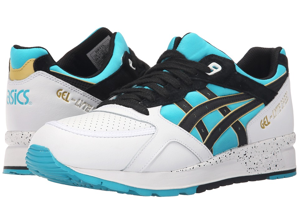 ASICS Tiger - Gel-Lyte Speed (Peacock Blue/Black Leather/Pig Skin Suede) Shoes