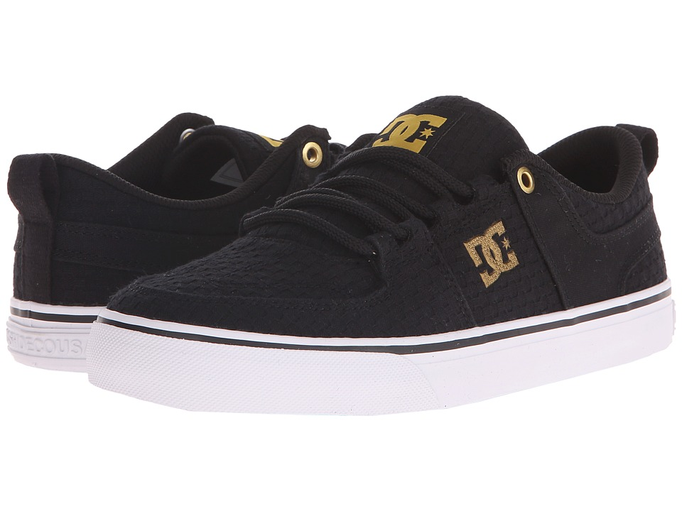 DC - Lynx Vulc TX SE (Black/White/Gold) Women