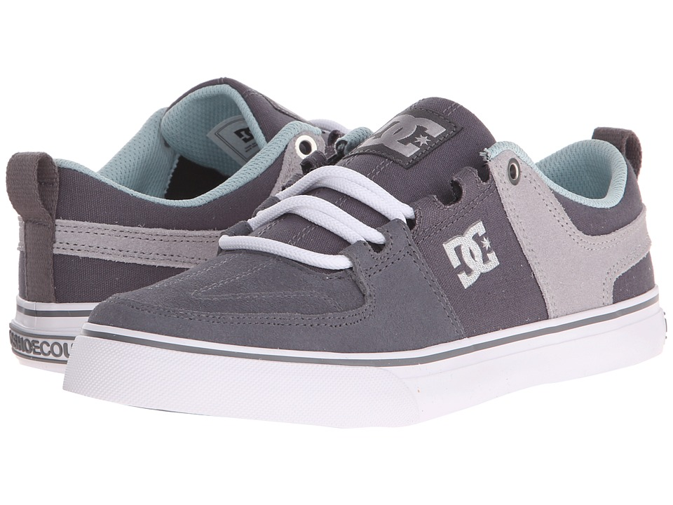 DC - Lynx Vulc (Grey/White) Women's Skate Shoes
