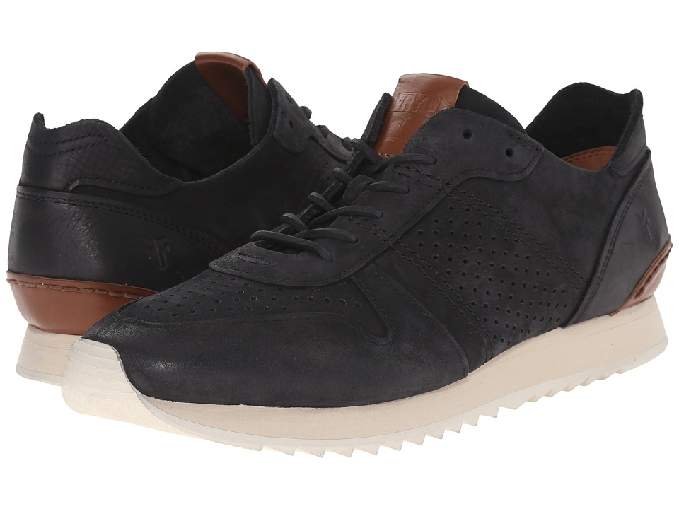 Frye - Keith Runner (Black Sunwashed Nubuck) Men's Shoes