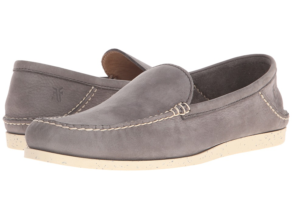 Frye - Mason Venetian (Smoke Sunwashed Nubuck) Men's Slip on Shoes