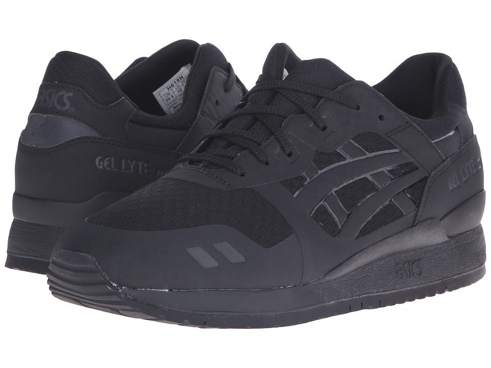 ASICS Tiger - Gel-Lyte III NS (Black/Black) Shoes