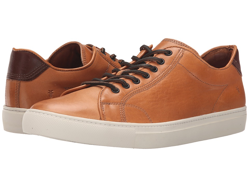 Frye - Walker Low Lace (Whiskey Tumbled Full Grain) Men's Lace up casual Shoes