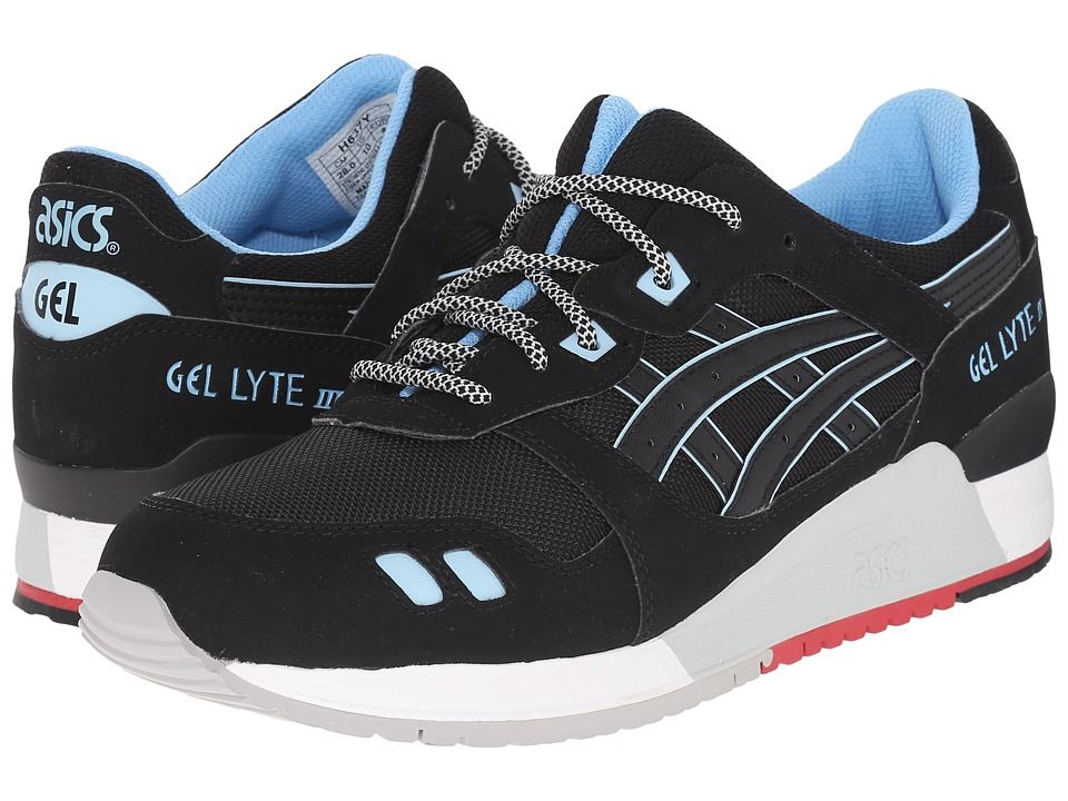 Onitsuka Tiger by Asics - Gel-Lyte III (Black/Black/Future Blue) Classic Shoes