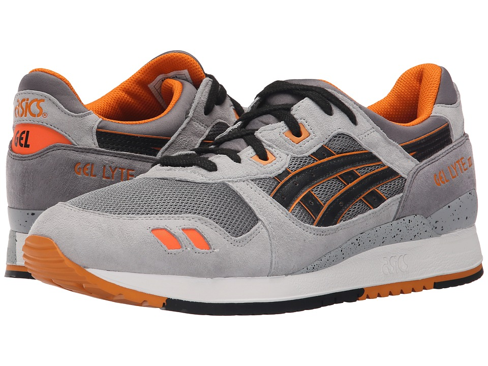 ASICS Tiger - Gel-Lyte III (Grey/Black) Classic Shoes