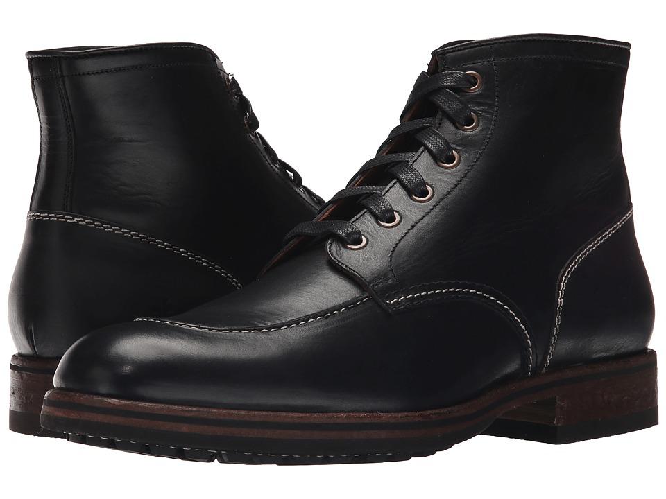 Frye - Wilson Midlace (Black Smooth Full Grain) Men's Shoes