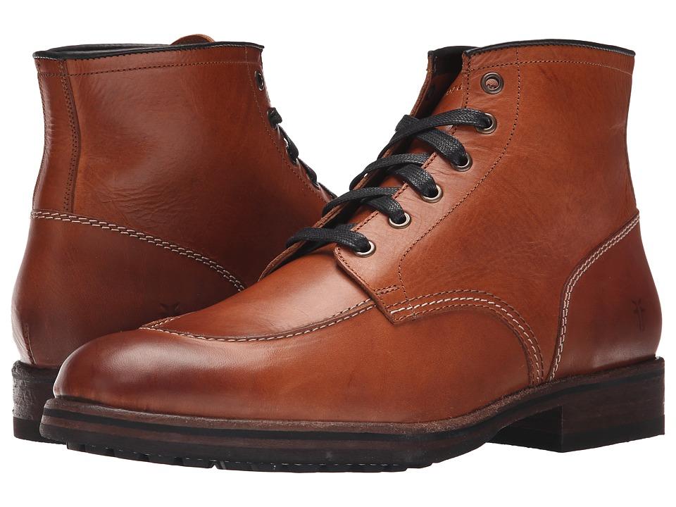 Frye - Wilson Midlace (Cognac Smooth Full Grain) Men's Shoes