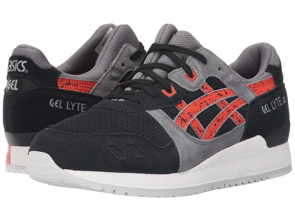 ASICS Tiger - Gel-Lyte III (Black/Chili) Classic Shoes