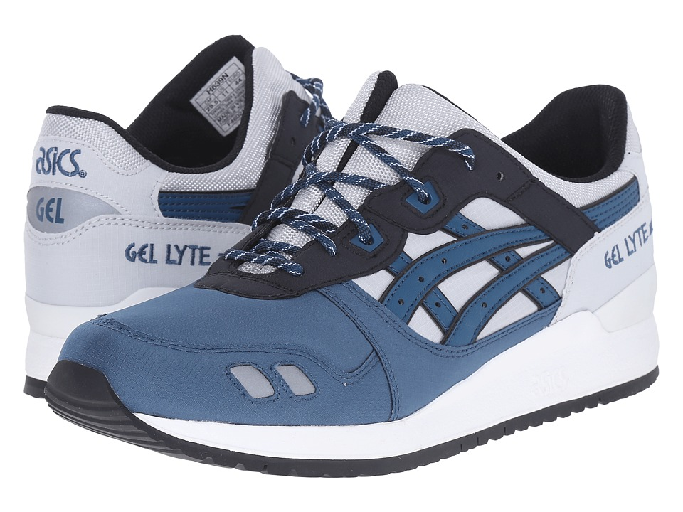 ASICS Tiger - Gel-Lyte III (Soft Grey/Dragon Fly) Classic Shoes
