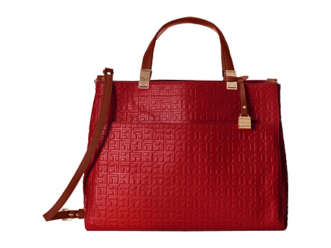 Tommy Hilfiger - Hinge Convertible Shopper (Tommy Red) Tote Handbags