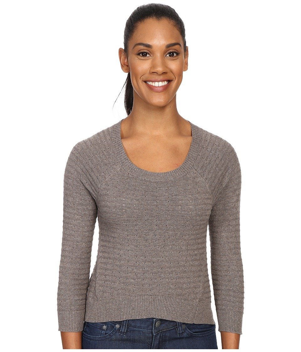 Toad&Co - Summery Cropped Pullover (Falcon Brown) Women's Long Sleeve Pullover