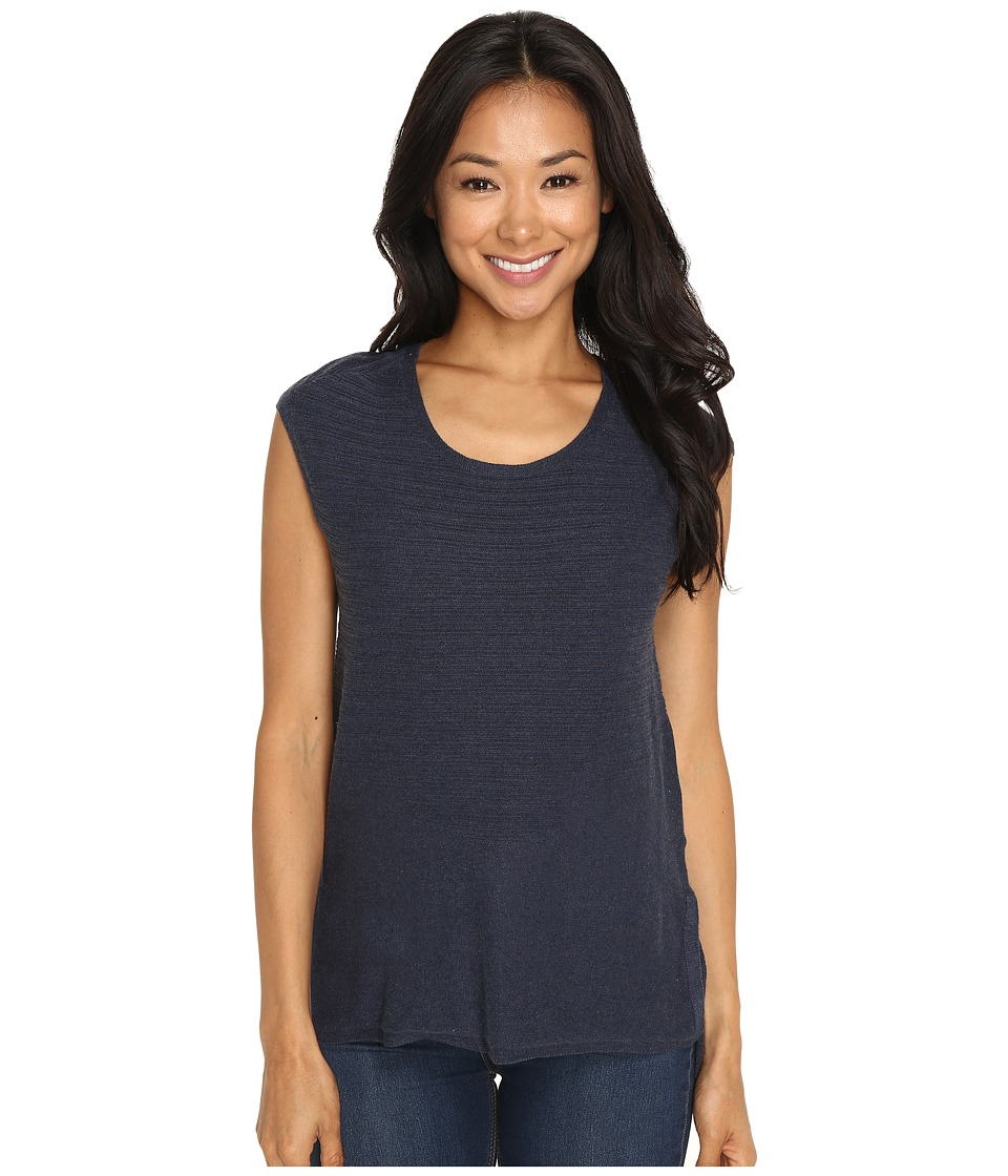 Toad&Co - Summery Sleeveless Sweater (Deep Navy Heather) Women's Sweater