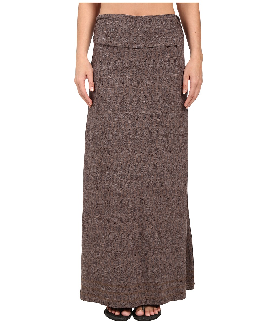 Toad&Co - Chakalaka Skirt (Falcon Brown Tapestry) Women's Skirt
