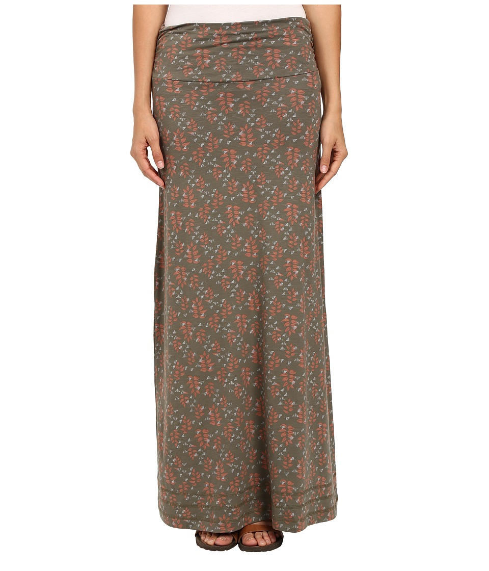 Toad&Co - Chakalaka Skirt (Dusty Olive Found Forest) Women's Skirt