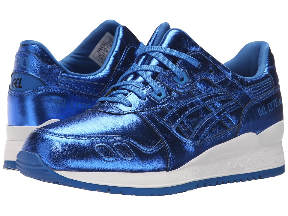 ASICS Tiger Gel-Lyte III Classic Blue-Classic Blue Womens Shoes