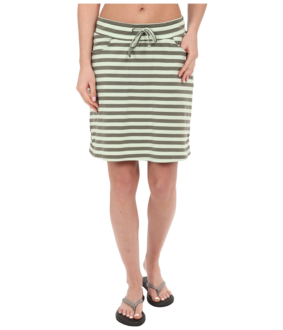 Toad&Co Tica Skirt (Pistachio Stripe) Women