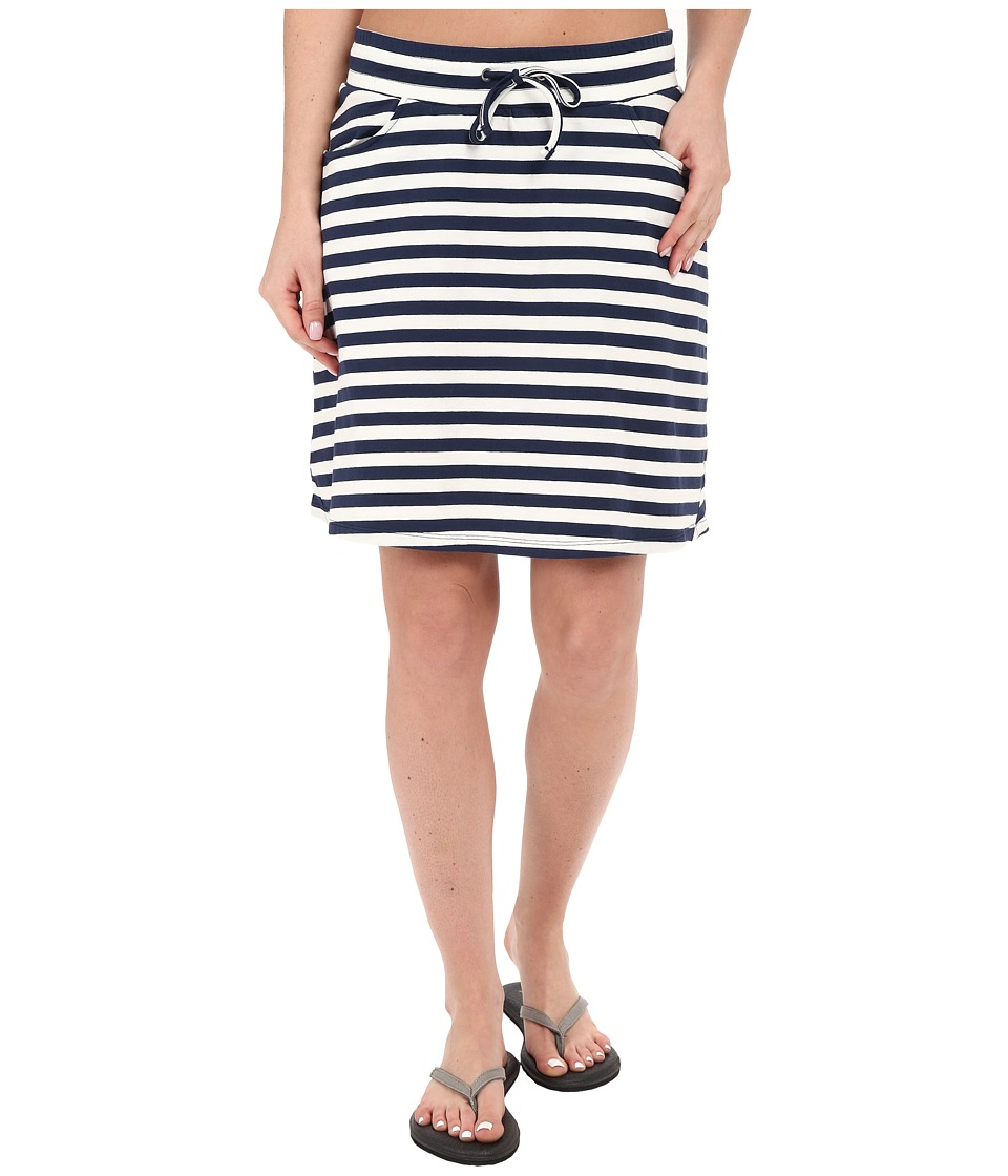 Toad&Co - Tica Skirt (Deep Navy Stripe) Women's Skirt