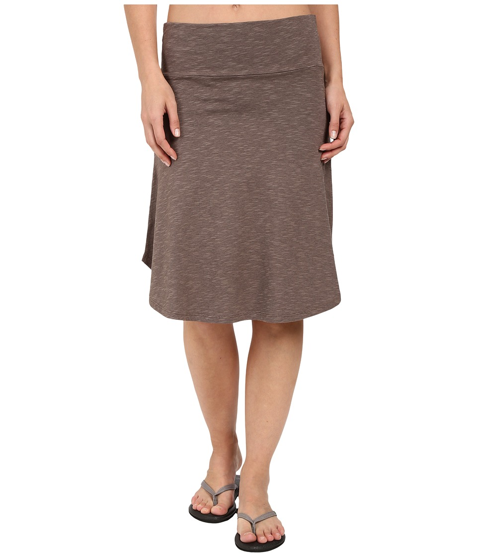 Toad&Co - Shaye Skirt (Falcon Brown) Women's Skirt