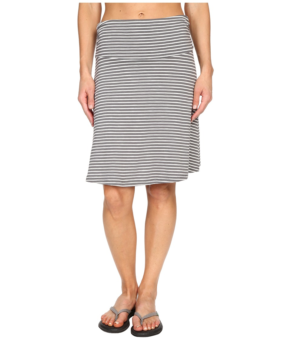 Toad&Co - Chaka Skirt (Smoke Stripe) Women's Skirt
